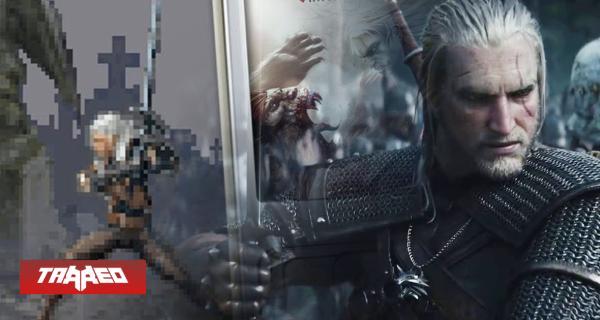 No todo es oro: Así era el horrible juego de The Witcher hecho en Java en 2007