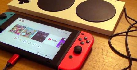 Padre modifica Xbox Adaptive Controller para que su hija juegue Switch