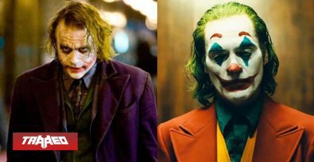Joaquin Phoenix agradece a Heath Ledger en premiación a mejor actor por Joker