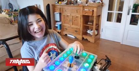Papá utiliza control adaptativo de Xbox para ayudar a su hija a jugar Legend of Zelda