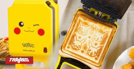 Extravagante: Anuncian Tostadora de Pikachu que te hace formas en tu pan