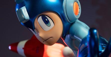 Así de dinámico se ve Mega Man en esta increíble figura