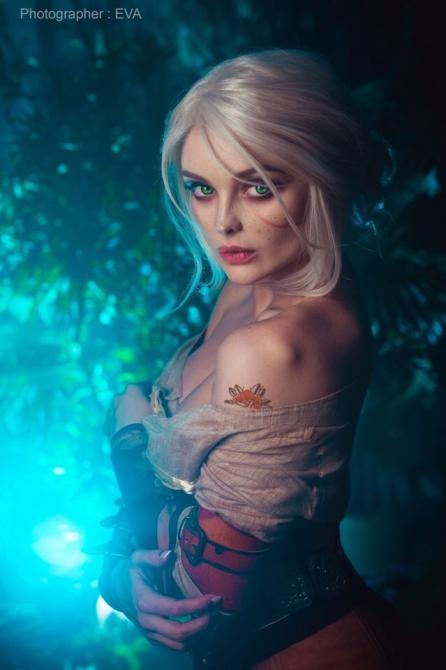 Así luce Sophie Katssby en su cosplay de Ciri