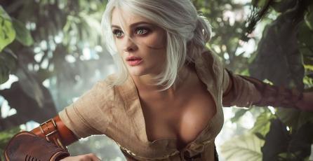 Este cosplay de Ciri, de <em>The Witcher</em>, te dejará con la boca abierta