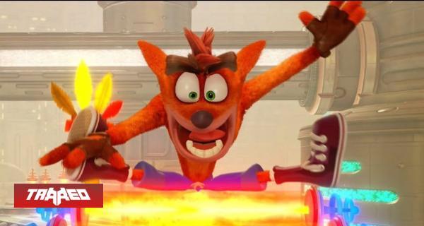 """Trilogía de Crash Bandicoot llegaría """"gratis"""" a juegos de PlayStation Plus en febrero"""