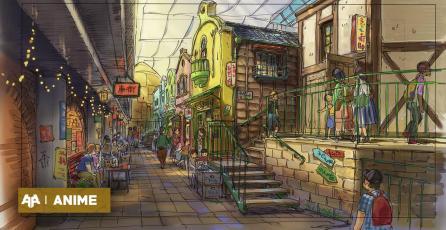 Nuevas imágenes muestran como será el parque temático de Ghibli