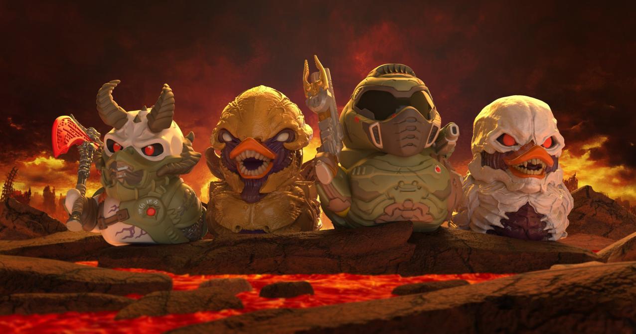 Así se ven los nuevos patos de hule de videojuegos