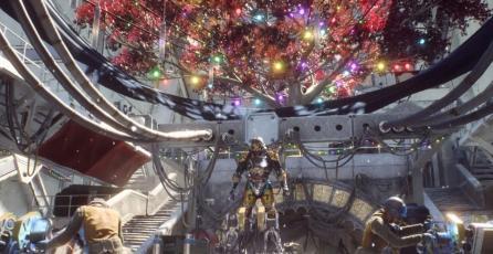 <em>Anthem</em> aún no ha retirado las decoraciones navideñas