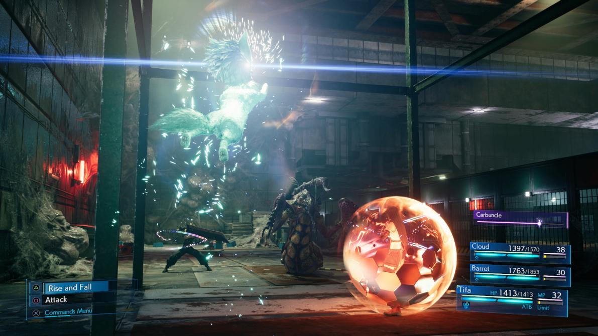 Nuevas capturas de <em>Final Fantasy VII Remake</em>