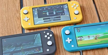 Presentan Nintendo Switch Lite Coral, un nuevo color para la consola