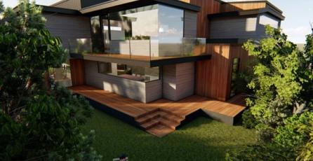 <em>Parasite</em>: arquitecta recrea la casa de la película en <em>Los Sims 4</em>
