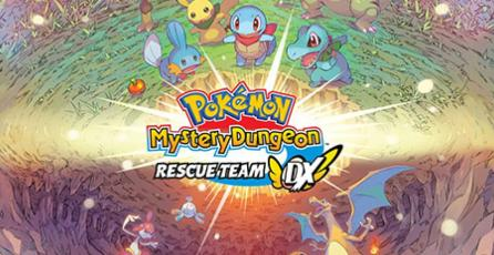Prepárate para la aventura de <em>Pokémon Mystery Dungeon: Rescue Team DX</em>
