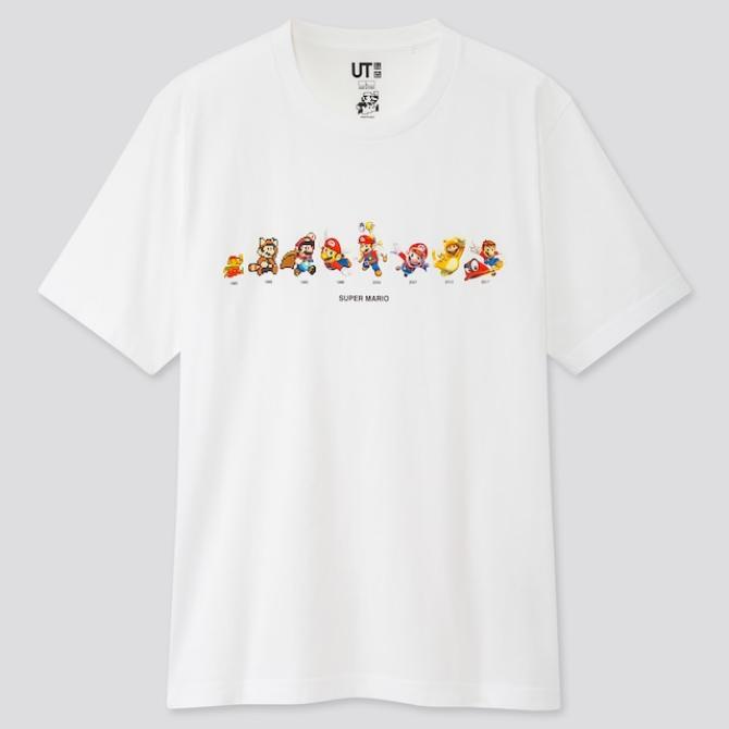 Esta es la nueva línea de UNIQLO inspirada en <em>Super Mario Bros.</em>