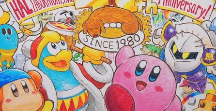 ¡HAL Laboratory, desarrolladora de <em>Kirby</em>, cumple 40 años!