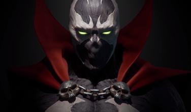 Anuncian oficialmente la genial figura de Spawn con el estilo de <em>Mortal Kombat 11</em>