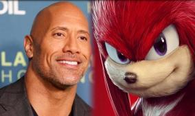 La Roca podría ser Knuckles en secuela de Sonic