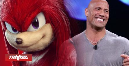La Roca se uniría como la voz de Knuckles en secuela de Sonic: La Película
