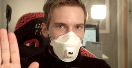 PewDiePie bromeó sobre coronavirus y tuvo polémico regreso a YouTube