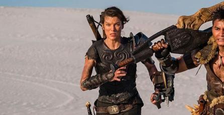 Así luce Milla Jovovich como cazadora en la película de <em>Monster Hunter</em>