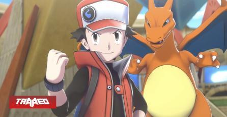 Rojo habla por primera vez en los videojuegos de Pokémon