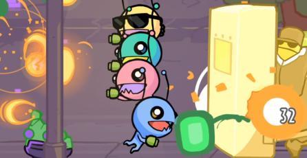 Aquí está el primer vistazo al caótico gameplay de <em>Alien Hominid Invasion</em>