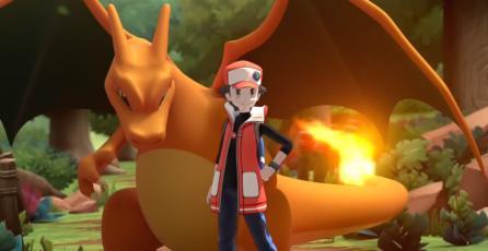 ¡Ya puedes combatir al lado de Red y Charizard en <em>Pokémon Masters</em>!