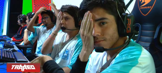 "Azules Esports protestó a ""ojo tapado"" en transmisión en vivo de la LLA de League of Legends"