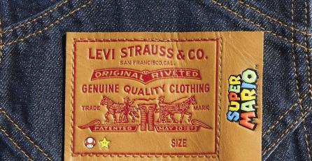 Muestran la colección de Levi's inspirada en <em>Super Mario Bros.</em> ¡y tiene overoles!
