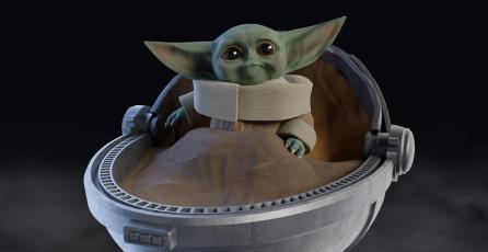Elimina enemigos como Baby Yoda en <em>Star Wars Battlefront II</em>