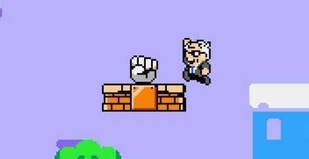 Sanders y Trump pelean en este juego similar a <em>Super Mario Bros.</em>
