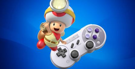 Ofertas de la semana: <em>Captain Toad: Treasure Tracker</em>, 8Bitdo Pro Controller y más