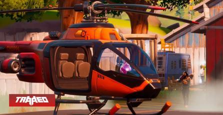 Fortnite: helicópteros y un nuevo juego de espías arriban hoy