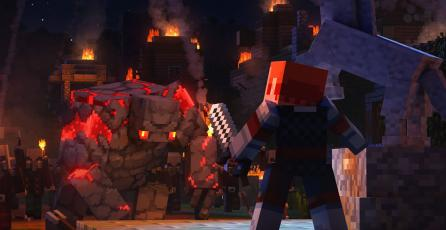 Así de atractivo y completo será el lore de <em>Minecraft Dungeons</em>