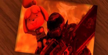 Isabelle de <em>Animal Crossing</em> aniquila demonios en <em>DOOM II</em> gracias a este mod