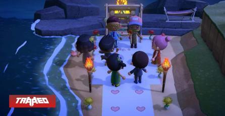 Pareja celebra su boda a través de Animal Crossing debido a la cuarentena