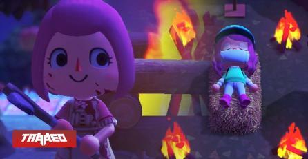 Convierten el nuevo Animal Crossing en un juego de Asesinos y Cultos Satánicos