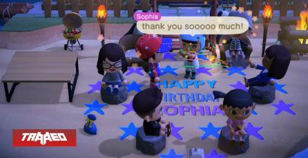 La gente está usando Animal Crossing para cumpleaños, citas y bodas