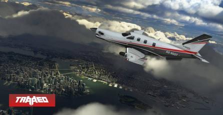 Microsoft Flight Simulator usará información real de vuelos y climas del momento para poblar el juego