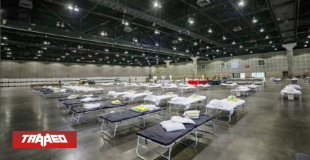 El recinto del E3 es ocupado como hospital de campaña por el coronavirus