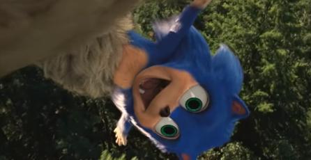Así de extraño se veía Sonic bebé en <em>Sonic La Película</em> antes del rediseño