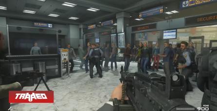 No Russian: gameplay confirma el violento nivel de Modern Warfare 2 en el remaster