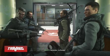 Modern Warfare 2 Remastered disponible en PS4 y Sony Rusia se opone al lanzamiento