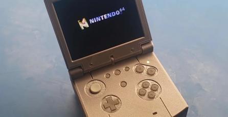 ¡Justo en la infancia! Crean un Nintendo 64 portátil y vas a querer tenerlo