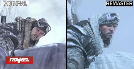 Comparan remaster de la campaña de COD: Modern Warfare 2 con el original