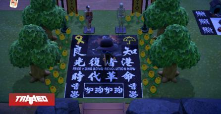 Las protestas en Hong Kong salieron de las calles para irse a Animal Crossing