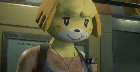 Canela de <em>Animal Crossing</em> protagoniza un perturbador mod para R<em>esident Evil 3</em>
