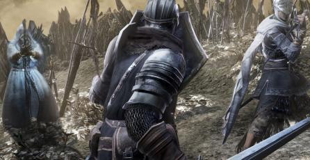 Fan juega <em>Dark Souls III</em> y hace ejercicio a la vez con el <em>Ring Fit Adventure</em>