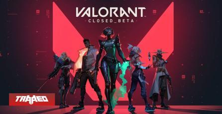 Valorant alcanzó 1,5 millones de viewers a pocas horas se ser lanzada la beta cerrada