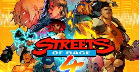 ¡<em>Streets of Rage 4</em> incluirá varios personajes de juegos previos con estilo retro!