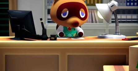 Tom Nook de <em>Animal Crossing</em> le enseña a los más pequeños a ir al baño